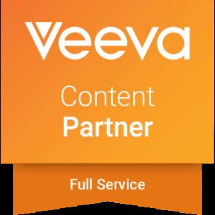 Veeva Full-Service Content Partner