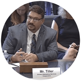 Billy Tiller – Co-Founder and CEO, Grower Information Services Coop